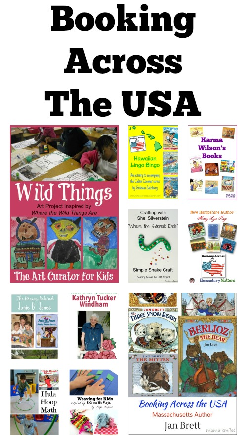 Meet authors and illustrators from each state in our Booking Across the USA project.  50 books and activities are shared in this great literacy resource!