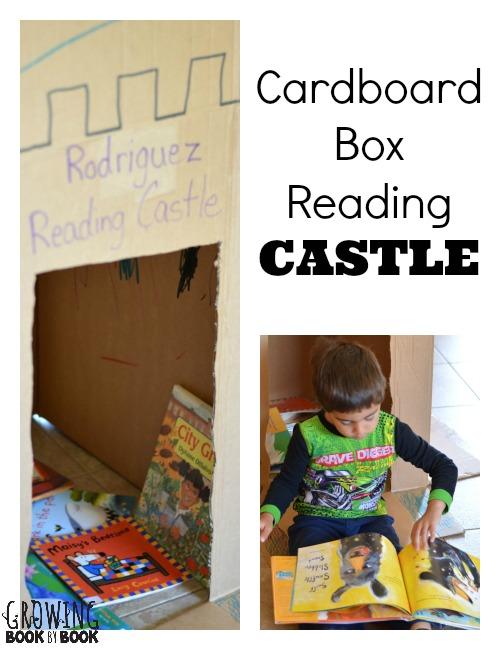 Reading Nook Ideas Cardboard Castle
