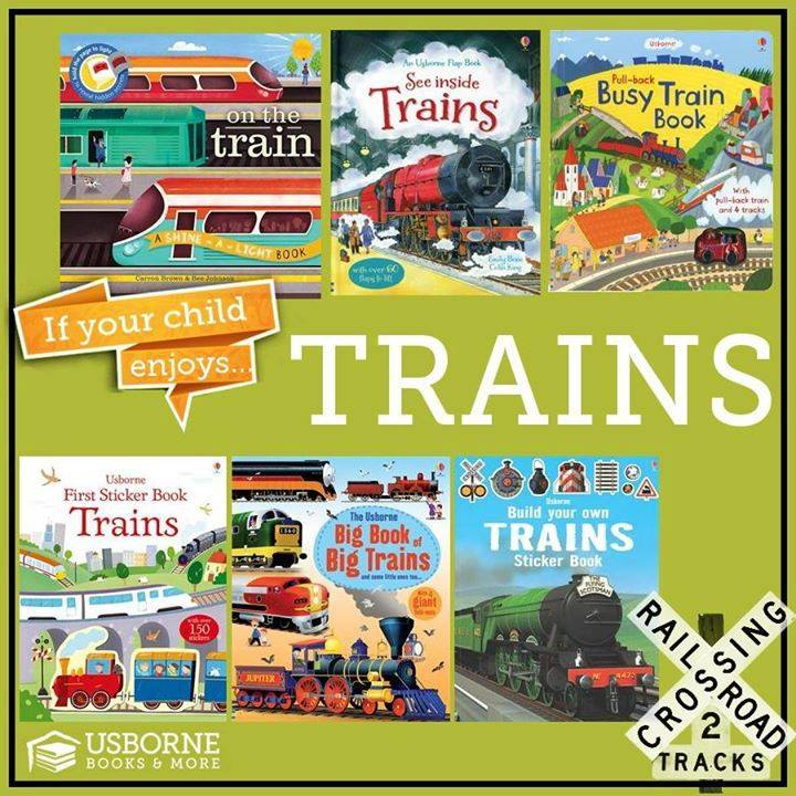 usborne trains
