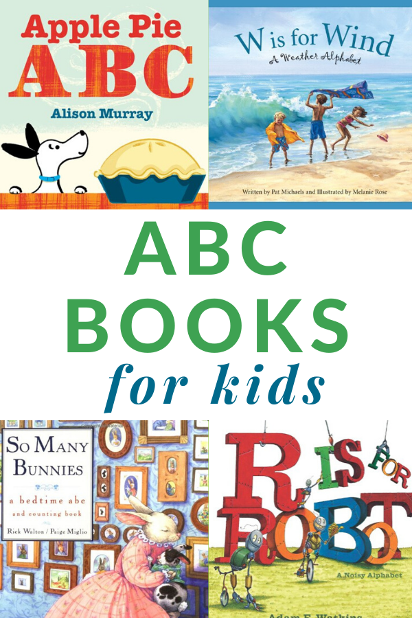 books for children about the alphabet
