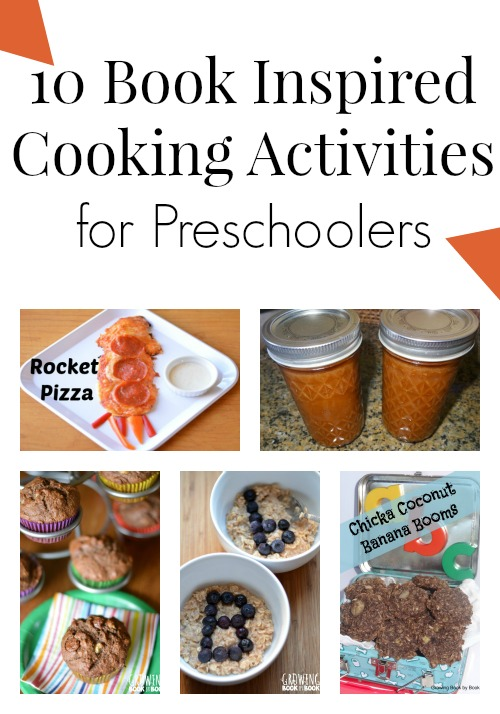 Classroom Cooking Ideas ~ Book inspired cooking activities for preschoolers