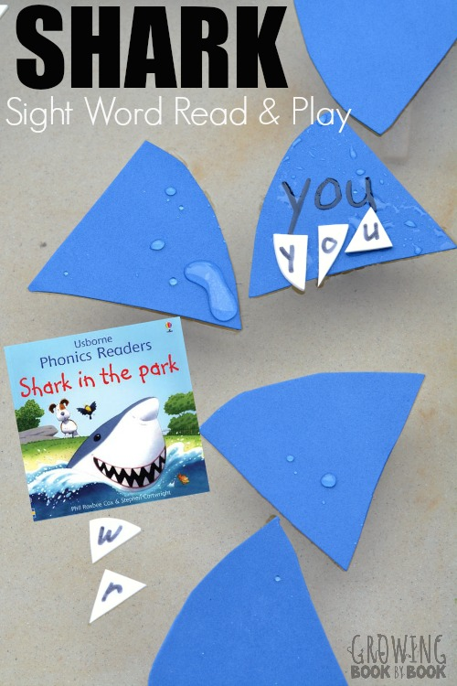 Practice reading and writing sight words with this shark themed idea perfect for beginning readers !