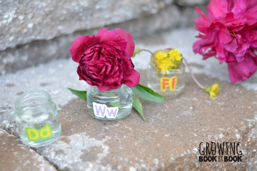 the alphabet jars
