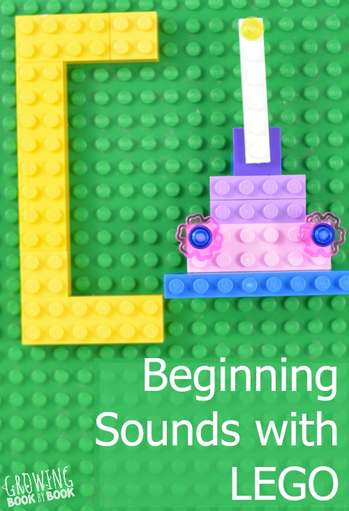 A beginning sound activity with LEGO that will have the kids thinking and creating.