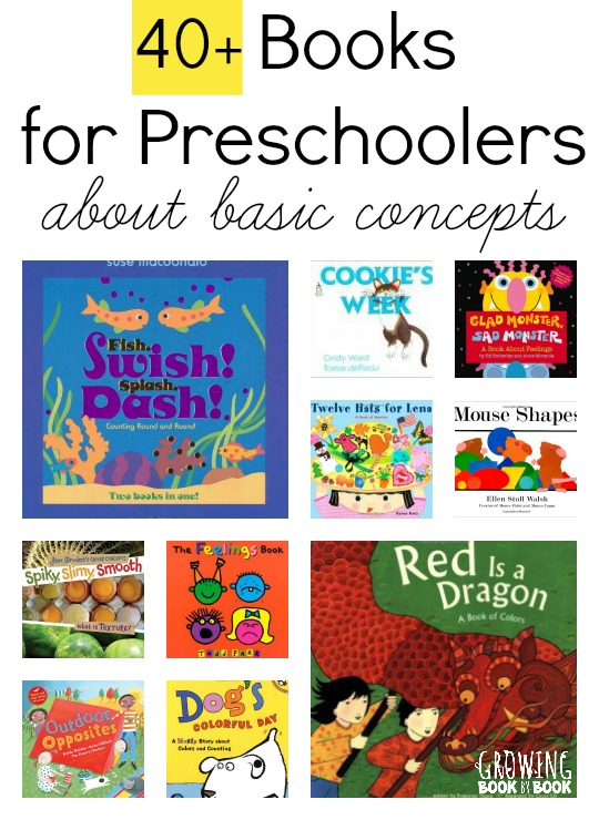 Books for Preschoolers: Basic Concepts