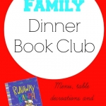 Take your Family Dinner Book Club outside for this month's reading of Runaway Ralph. A perfect summer family activity.