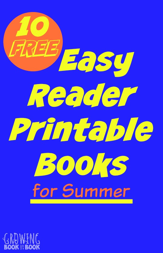 10 easy reader printable books for kids that are available for free a great way - Free Printable Books For Kids