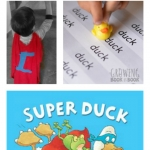 Superhero summer reading ideas to do with the book Super Duck.