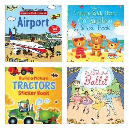 sticker books for kids from Usborne