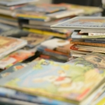 collect all your books in one spot to start your book rotation