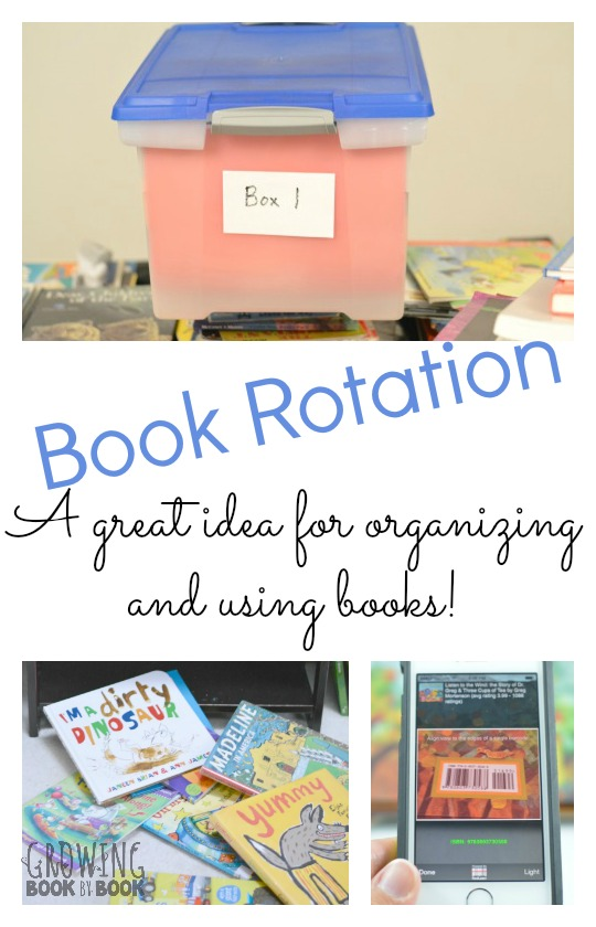 The Art of Book Rotations is the answer to your book organizing prayers.  Tips for creating spaces where books can be found and used.