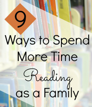spend more time reading together with these family literacy activities