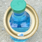 matching rhyming words with colored bottles