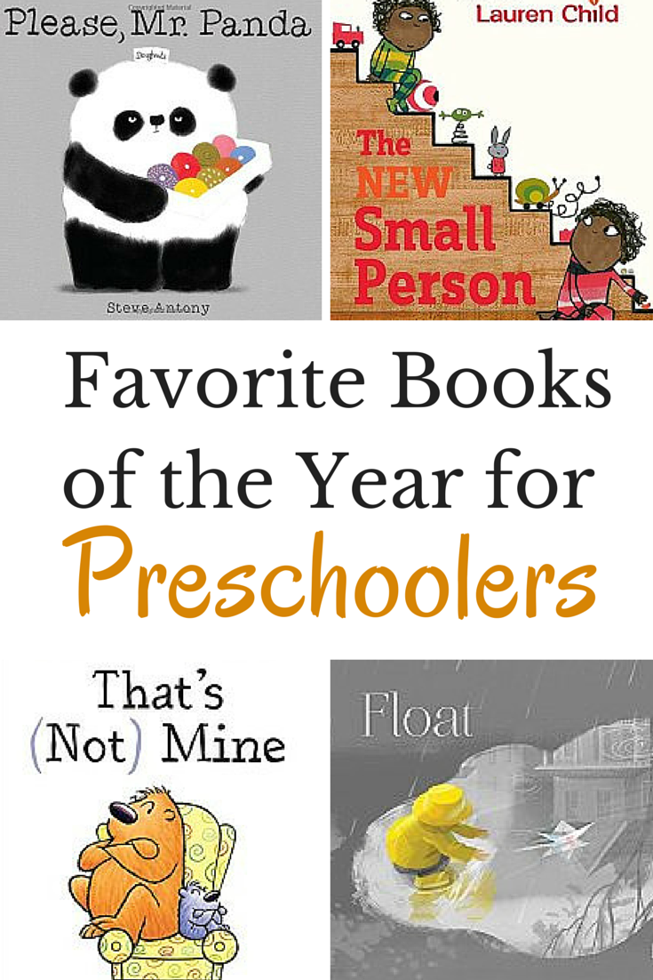 favorite new books for preschoolers