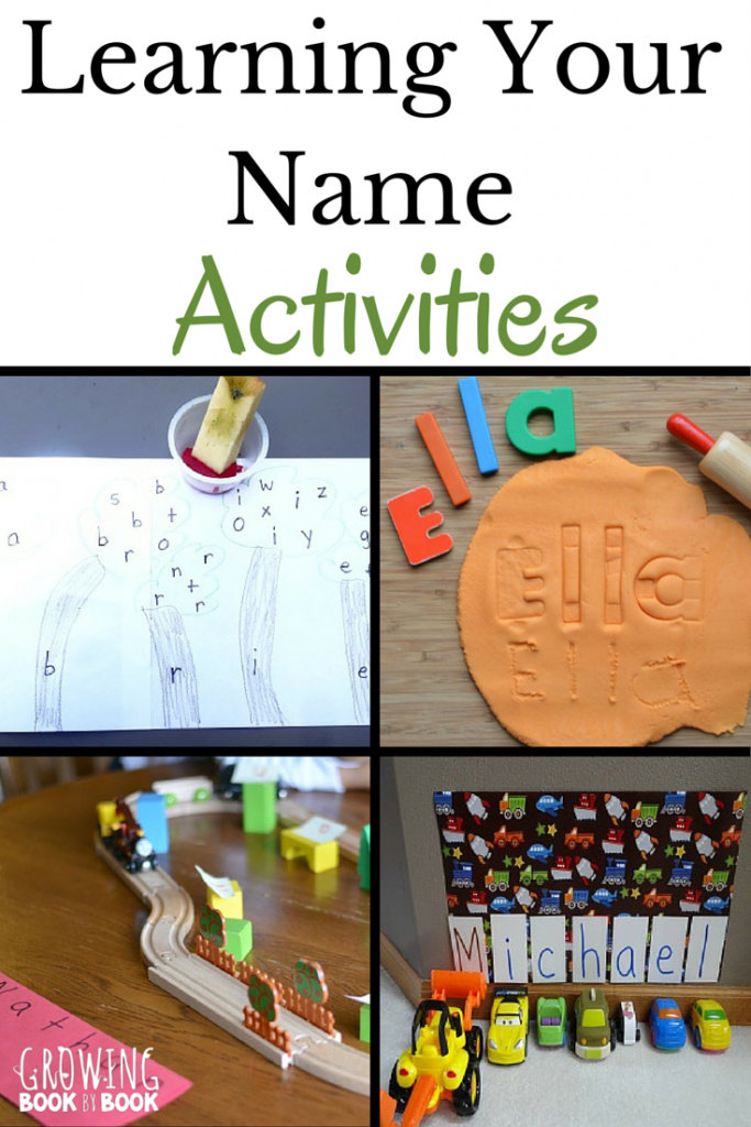 How to teach the alphabet? Start with the letters in your child's name. Fun ideas for learning letters.