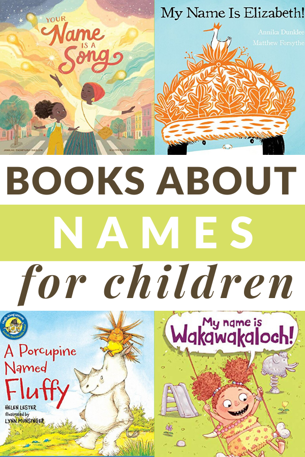 BOOKS CELEBRATING NAMES