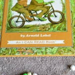 frog and toad story threading activity
