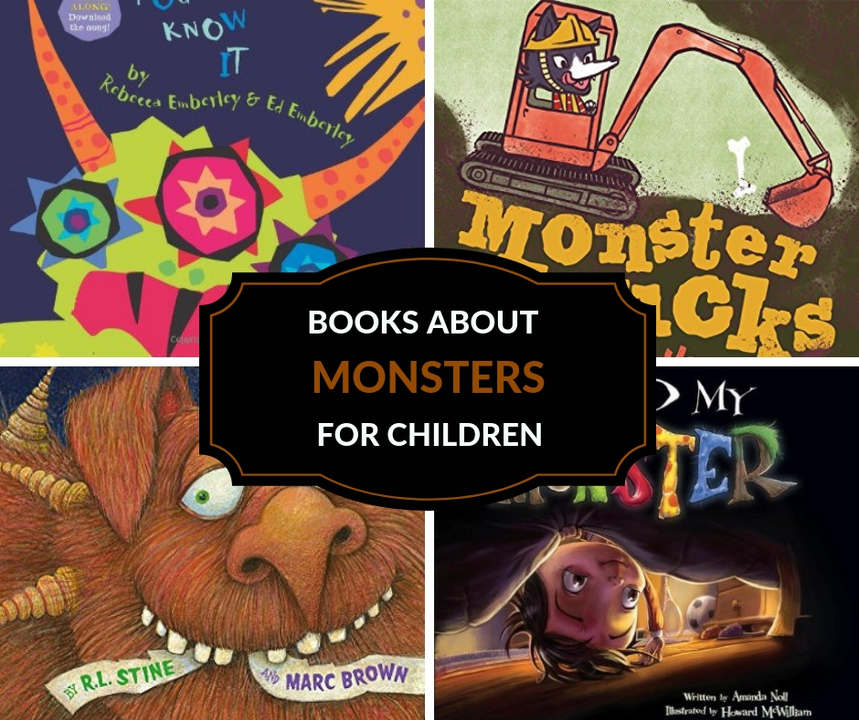books about monsters for kids