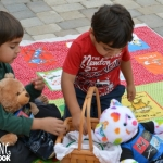 playing the beginning sounds picnic activity
