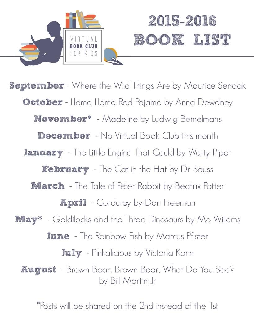 virtual book club book list