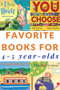children's books to read to four and five year olds