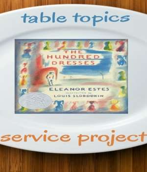 The Hundred Dresses Family Dinner Book Club
