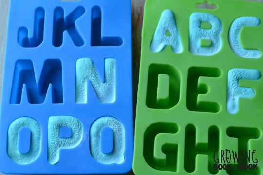 alphabet molds to make slime letters