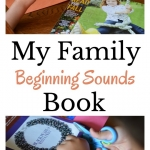 Build phonemic awareness with this My Family Beginning Sounds Activity. A playful preschool activity perfect for a my family theme.