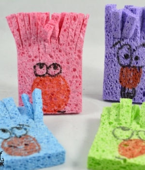 Rhyming dust bunnies are perfect for story retelling and a great rhyming acitivity.