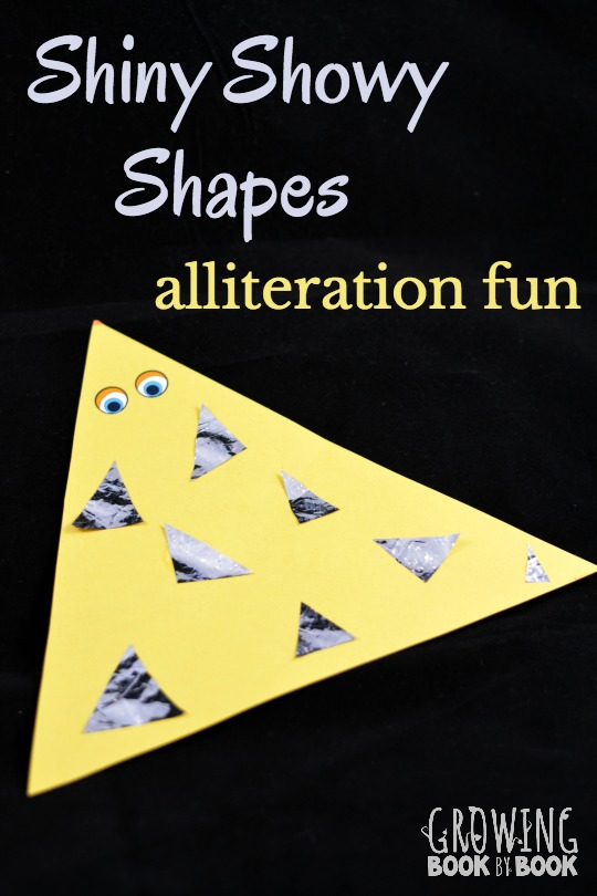 Shapes alliteration activity is a fun and playful way to build phonological awareness. Plus, you work on shape recognition.