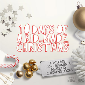 book inspired christmas ornaments