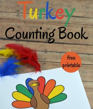 printable emergent reader about turkeys
