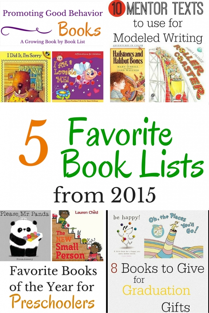 Favorite Book Lists Of 2015