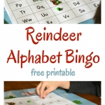 A fun alphabet game to play with one child or a whole class! Reindeer alphabet bingo is a great literacy activity to use at Christmas parties to work on letter recognition and letter sounds.
