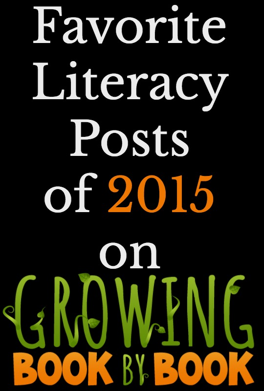 Check out the most popular posts on Growing Book by Book in 2015. Lots of hands-on and playful literacy activities.