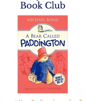 Grab your themed menu, table crafts, conversation starters and family service project for this month's Family Dinner Book Club featuring A Bear Called Paddington.