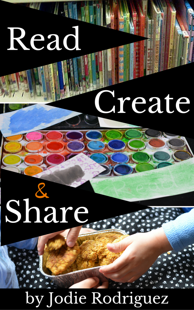 Read, Create & Share by Jodie Rodriguez is a brilliant book for families and caregivers of young children. Monthly ideas of books to read, creative projects to complete and most importantly service learning ideas. A must have resource for teaching kids about kindness.
