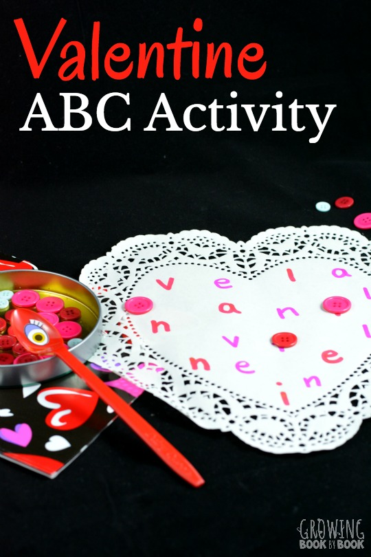 a valentine abc activity that will have preschoolers and kindergarteners enjoying practicing letter recognition