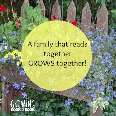 Love this quote by Jodie Rodriguez of Growing Book by Book. Keep growing by reading aloud to kids every day.