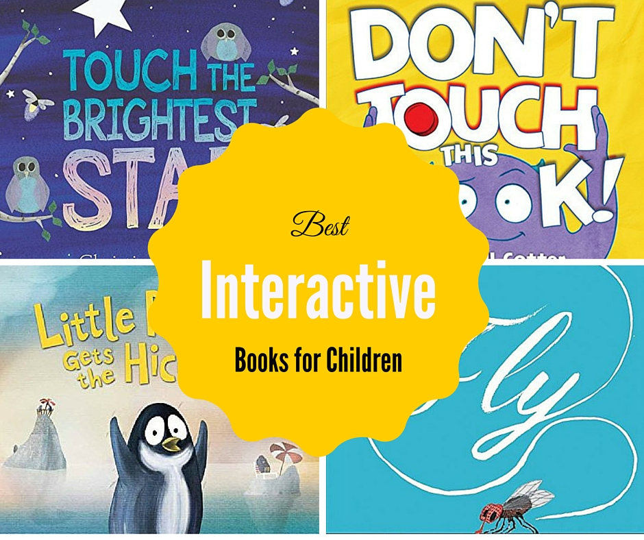 Check out the best interactive books for kids to hit the market!