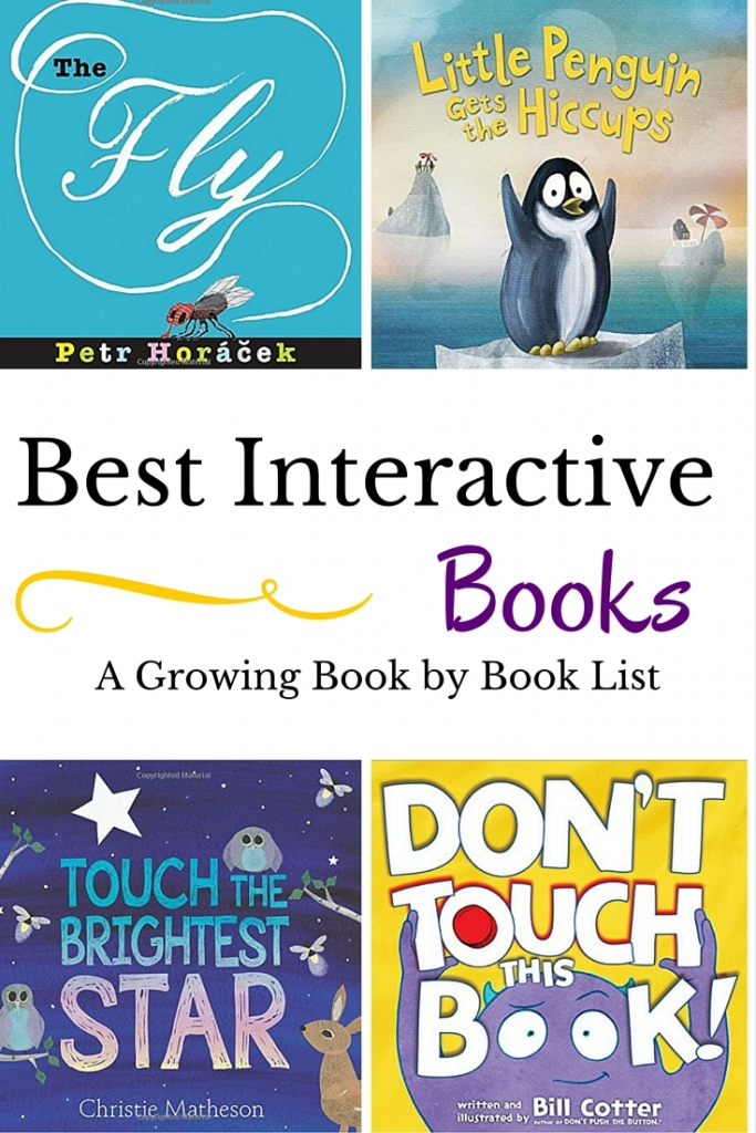 The newest and greatest interactive books for kids to add to your bookshelf.