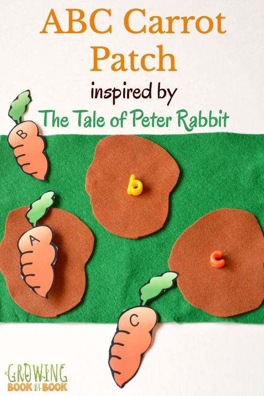 Play this fun ABC carrot patch game to compliment the book, The Tale of Peter Rabbit by Beatrix Potter.