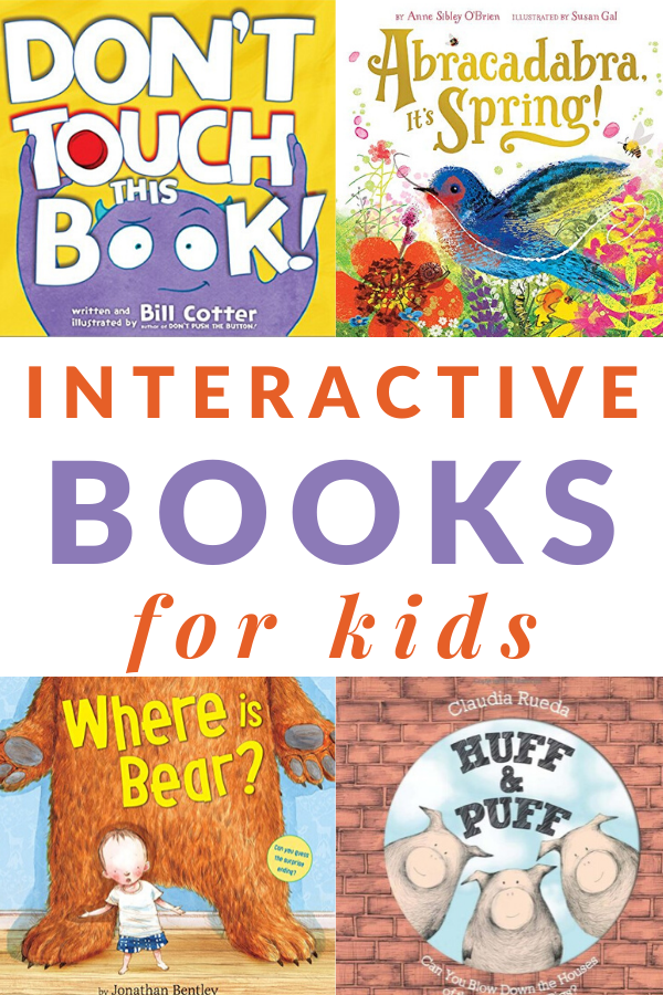 best interactive books for kids