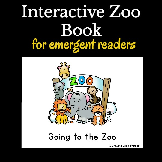 free printable book about the zoo