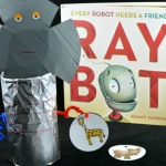 A beginning sounds activity with a robot theme. It pairs great with the book, Raybot.