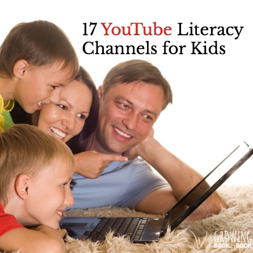 Great YouTube education channels for kids to learn about literacy. Great online resources for kids!