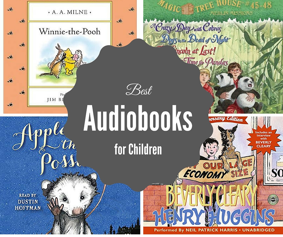 best audio books for children FB