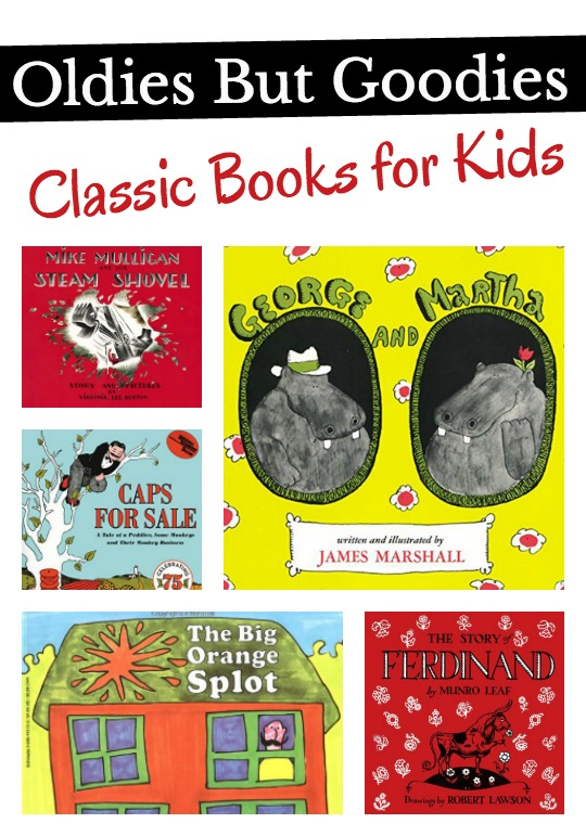 Classic books for kids that have stood the test of time. A book list that every child should experience.