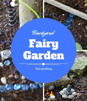 Let the kids build a backyard fairy garden that will encourage lots of storytelling and literacy skills.