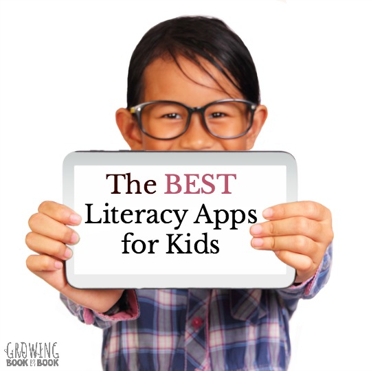 The best of the best apps for kids to build literacy skills. Apps for reading books, word work, handwriting and storytelling.